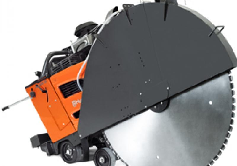 Husqvarna's FS 7000 DL is a deep-cutting flat saw compliant with Tier 4 final emission regulations