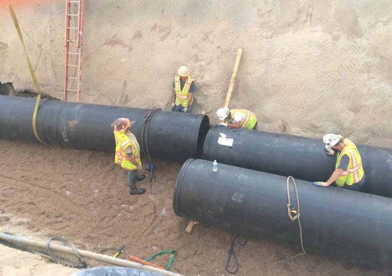 HDPE pipe rehabilitates corrugated metal pipe in Boulder, Colo., storm-water system