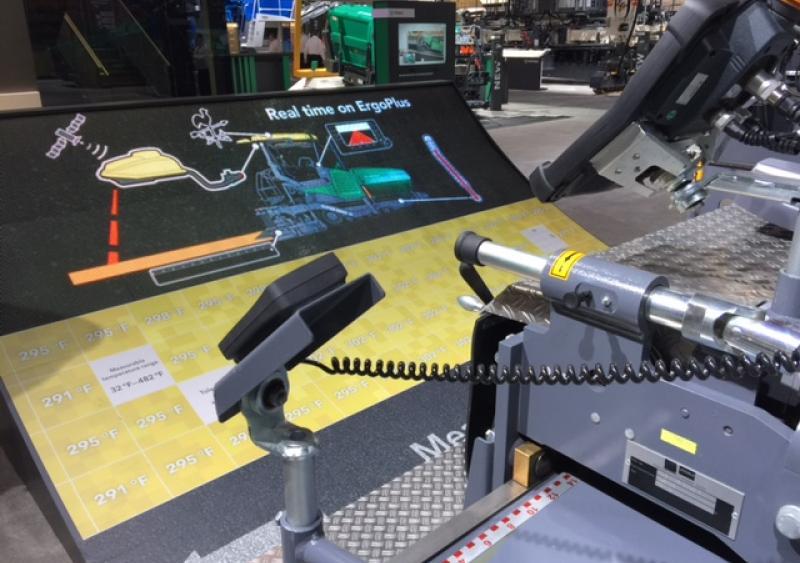 Wirtgen Group unveils smart pavers