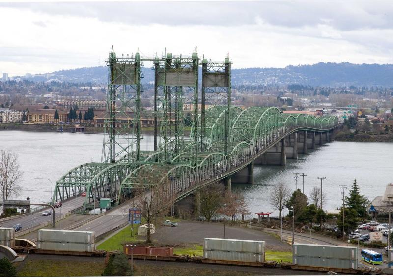 I-5 bridge over Columbia River