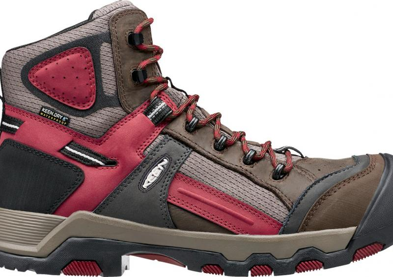 The lightweight Davenport medium-duty work boot from KEEN Utility