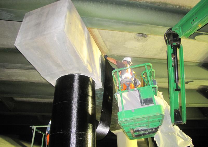 Milliken RenewWrap fiber-reinforced polymer