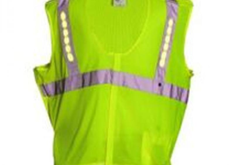 NITE Beams' rechargeable LED vests