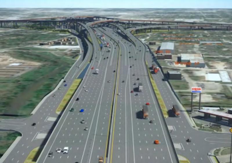 North Houston Highway Improvement Project, Texas