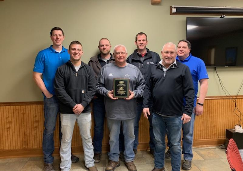 Top Overall Dealer and Midwest Region Top Dealer: Logan Contractors Supply Inc. (Des Moines, Iowa)