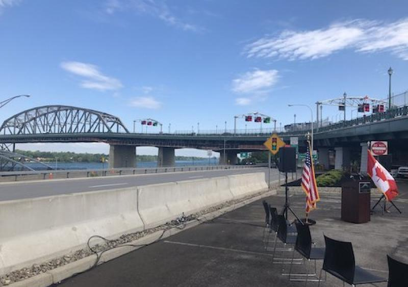 Peace Bridge rehab completion