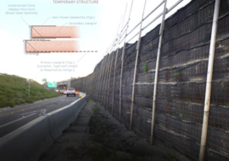 The StrataWall temporary wall system