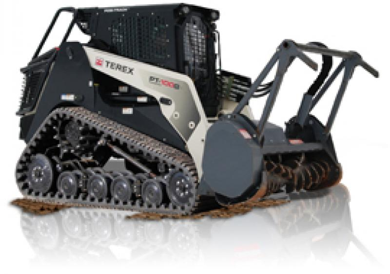 Terex's PT-100G Forestry compact track loader