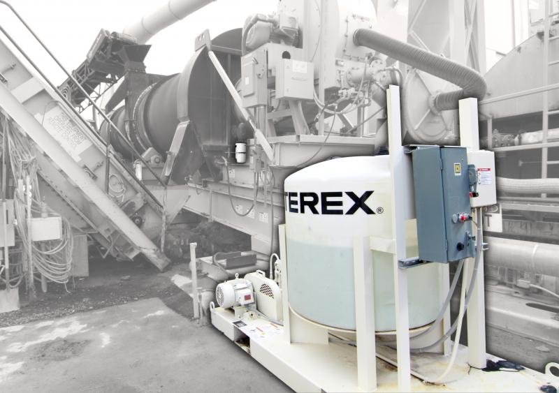 The Terex warm-mix asphalt system
