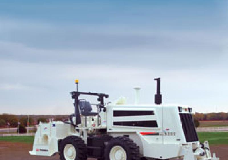 Terex is the CMI RS350 reclaimer/stabilizer