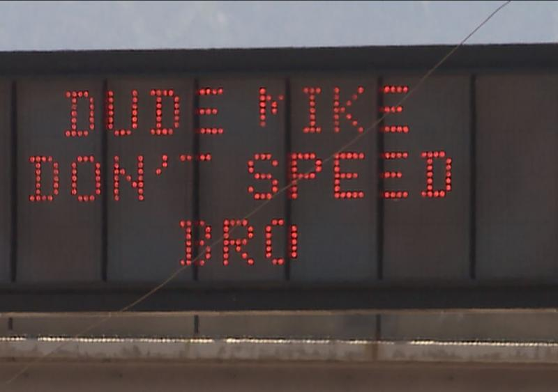 Utah DOT uses variable message signs to get personal with the driving public