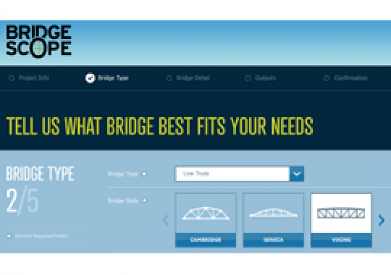 BridgeScope is an exclusive design tool developed by U.S. Bridge to bring projects to life