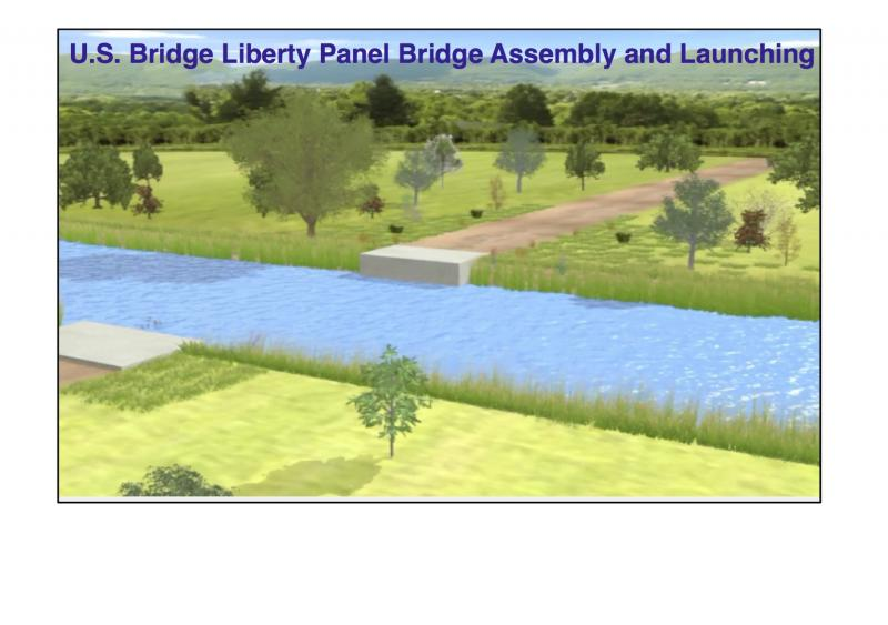 U.S. Bridge Liberty Panel Bridge Animation