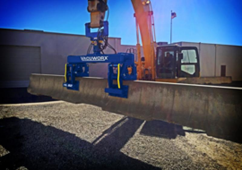 Vacuworx HL B2 hydraulic barrier lifter