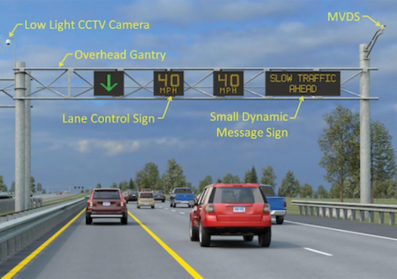 Michigan flex route for traffic management