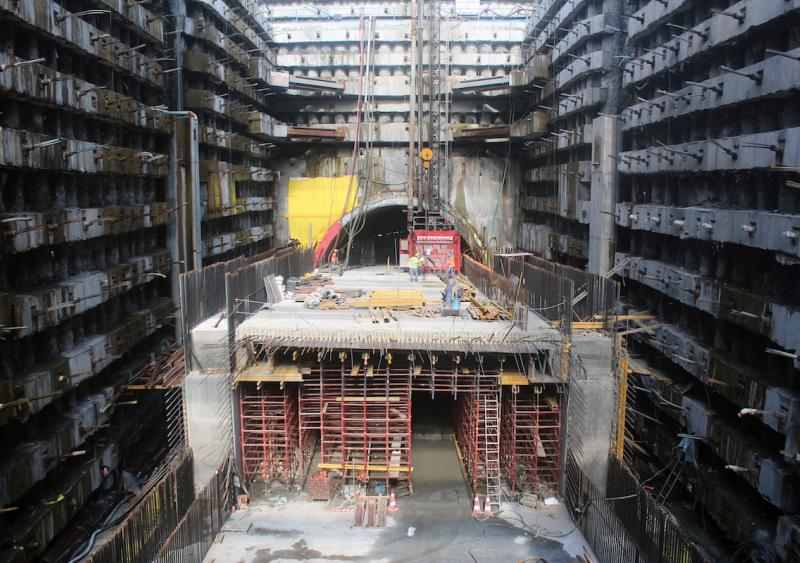 Asia-Europe tunnel project continues to cruise along