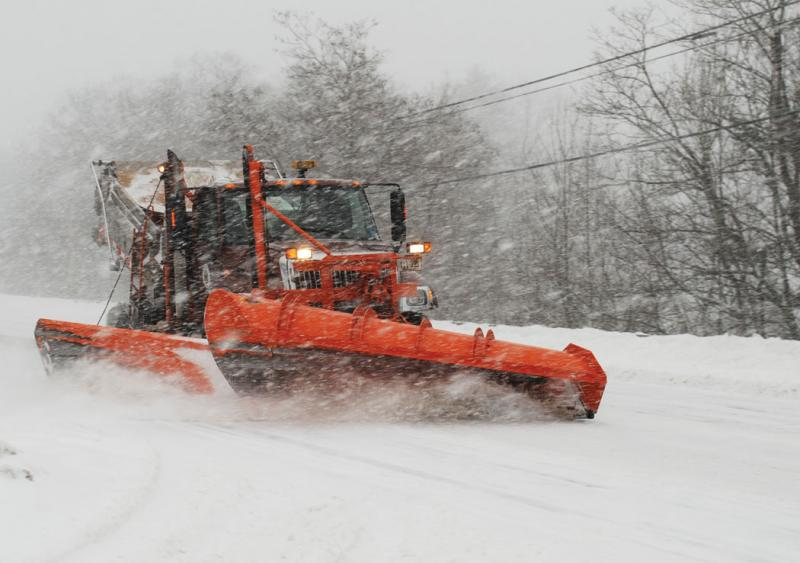 MaineDOT has outfitted its snowplow trucks with an electronic spreader control system that accurately records the amount of granular materials and liquids applied to winter roadways.