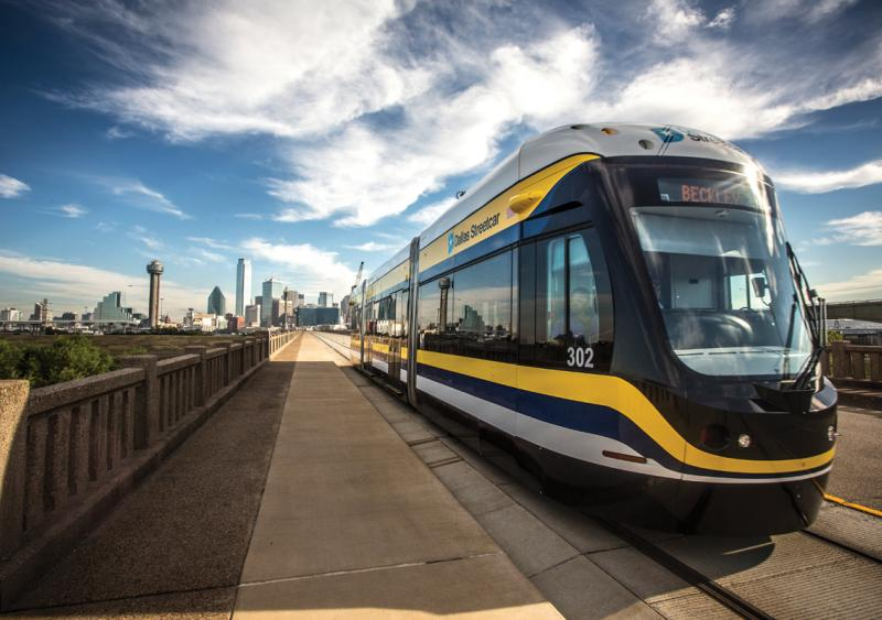 Streetcar line in Dallas-Oak Cliff breathes new life into an old structure