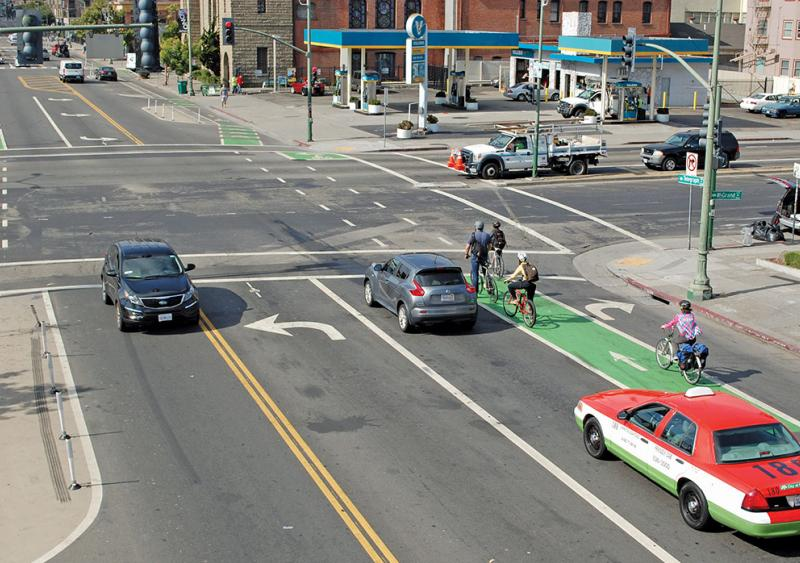Complete streets in Oakland