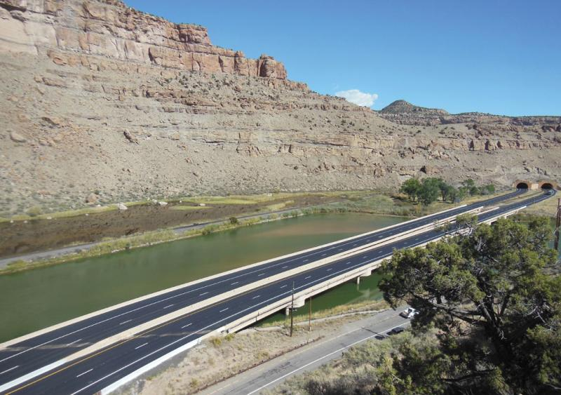 A long and winding road in Colorado gets top-shelf resurfacing