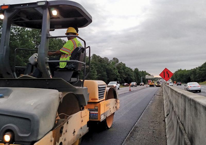 South Carolina I-85