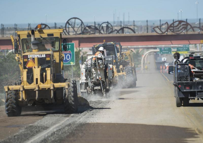 N.M. contractor front-loads schedule, completes in 85 days
