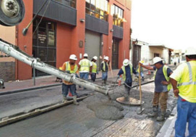 """Concrete overlays breathe new life into two major arteries through New Orleans' """"Hospitality Zone"""""""