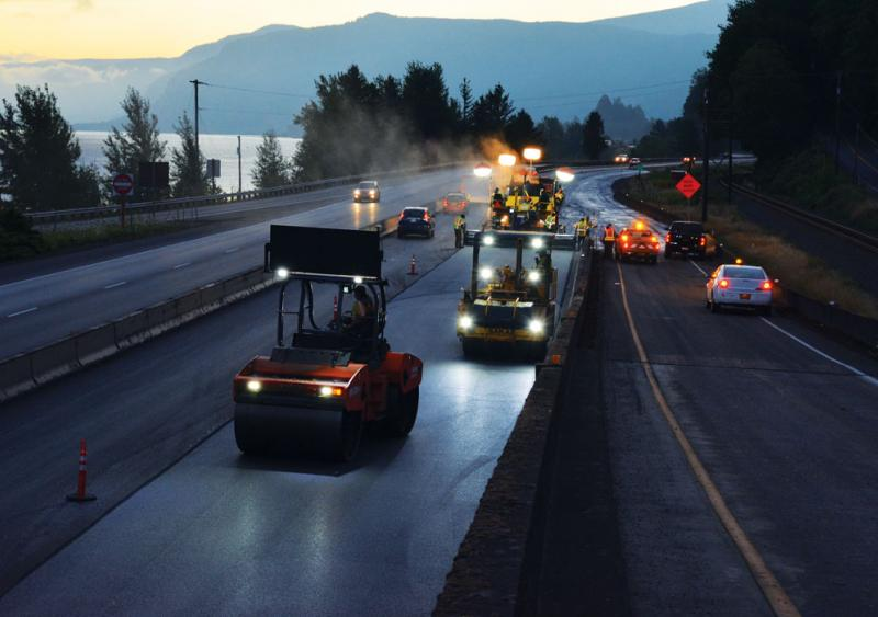 Oregon work-zone lighting