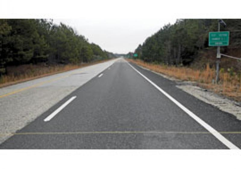 Two case study OGFCs were constructed as part of the 2012 NCAT Pavement Test Track, which used GTR-modified binders and no fibers. No cracking or raveling are evident in either test section to date.