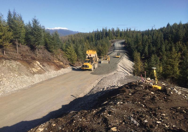 Crews work within their means up in Alaska