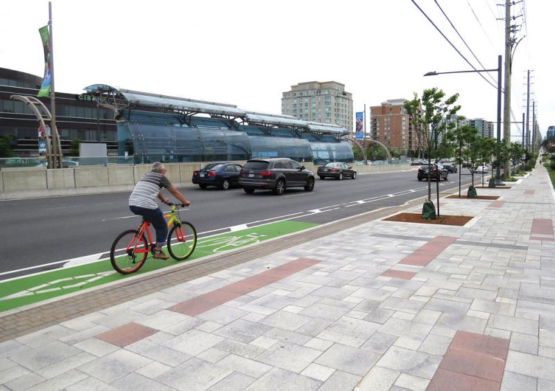 Ontario's York Region develops multimodal complete street success