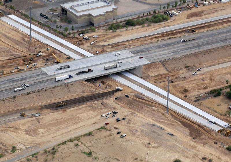 The I-10 Perryville Road Traffic Interchange