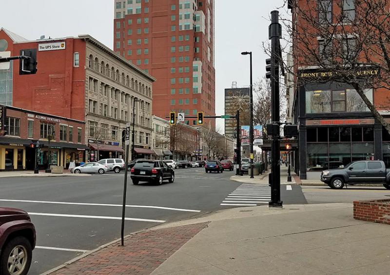 Elm Street downtown Manchester