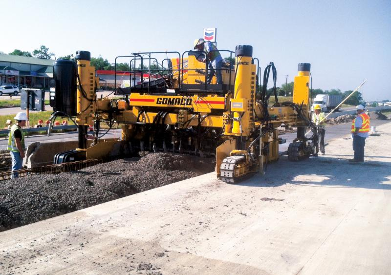 Houston contractor handles work on I-35's section 5B