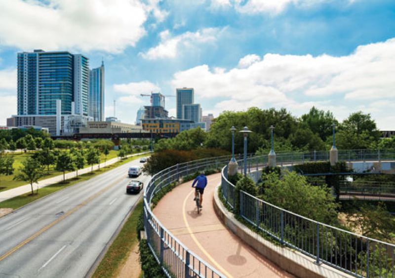Increase in cities engaging in multimodal routes