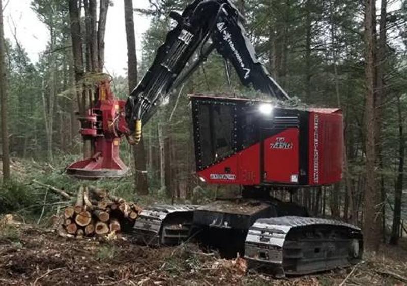 Komatsu forestry machine manufacturer