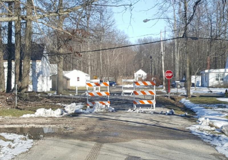 LaneGard 3 Folding Type III Barricade is designed for emergency road closures.