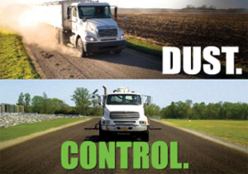 PennzSuppress D dust control