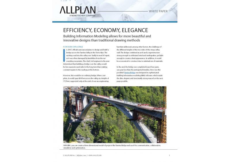 Efficiency, Economy, Elegance