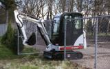 Bobcat Co. introduces the new 323 compact excavator. A new hydraulic system features a piston pump that enables the 323 to maintain constant digging forces by minimizing lugging. The 323 has a digging depth of 7 ft 6 in. and a maximum reach of 12 ft 10 in. at ground level.