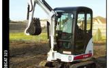 323 compact excavator from Bobcat Co