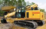 Gradall crawler excavators