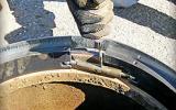 "American Highway's ""Pivoted Turnbuckle"" manhole riser"
