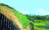 Geoweb embankment protection