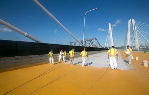 ELIMINATOR bridge deck waterproofing