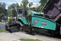 Vogele's Vision Series of asphalt pavers