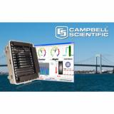 RTMC Pro software interfaces to Campbell Scientific bridge-data acquisition systems