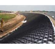 Geoweb slope protection system
