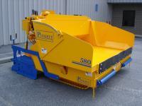 The Model 580 asphalt paver from Puckett Equipment Inc.