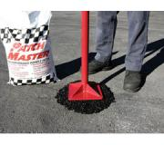 SealMaster offers a full line of oil spot primers for sealing oil, gas and grease spots on pavement, as well as asphalt emulsion tack coats for priming asphalt surfaces. PatchMaster premium cold patch sets up fast and firm in potholes and can be applied in any weather.